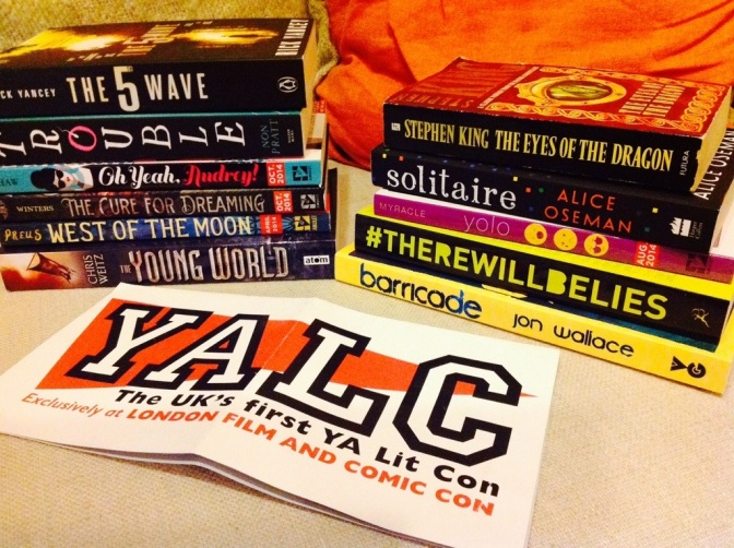 YALC book haul